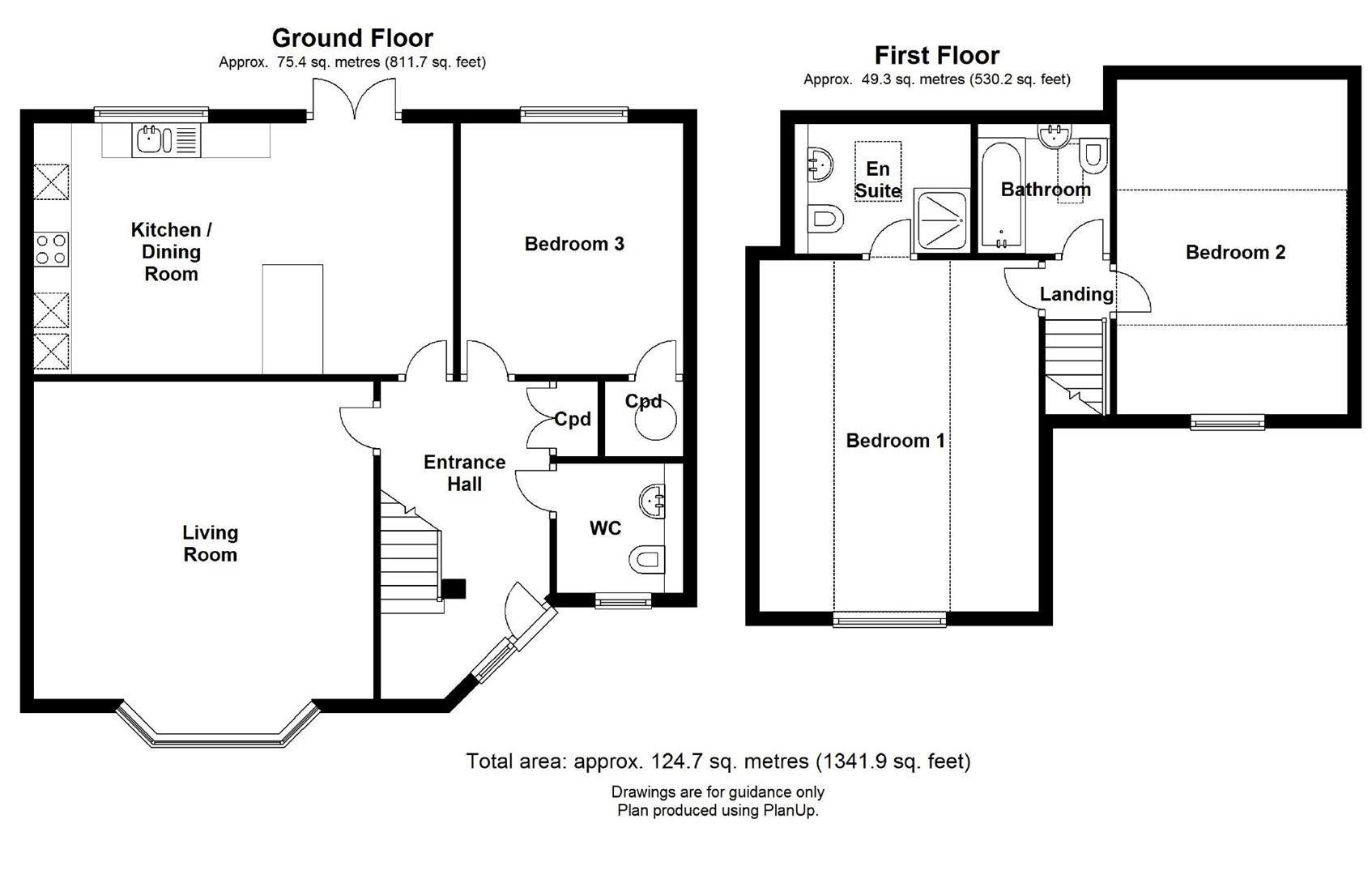Floor plan Cambridge